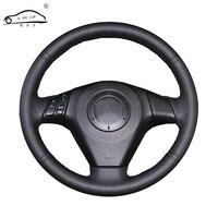 Artificial Leather Car Steering Wheel Braid For Old Mazda 3 Mazda 5 Mazda 6 2003 2009