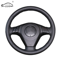 Artificial Leather Car Steering Wheel Braid For Old Mazda 3 Mazda 5 Mazda 6 2003 2009