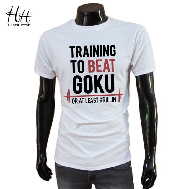 Dragon Ball Z Goku Krillin Print T-shirt