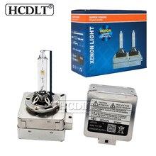 Hcdlt переменного тока 12 V HID лампы D1S 55 Вт ксеноновых фар, Высокопрочная конструкция лампы автомобильные лампочки глобуса 35 Вт ксенон D1S D3S Авто лампы фары 4300 K 5000 K 8000 K 6000 K