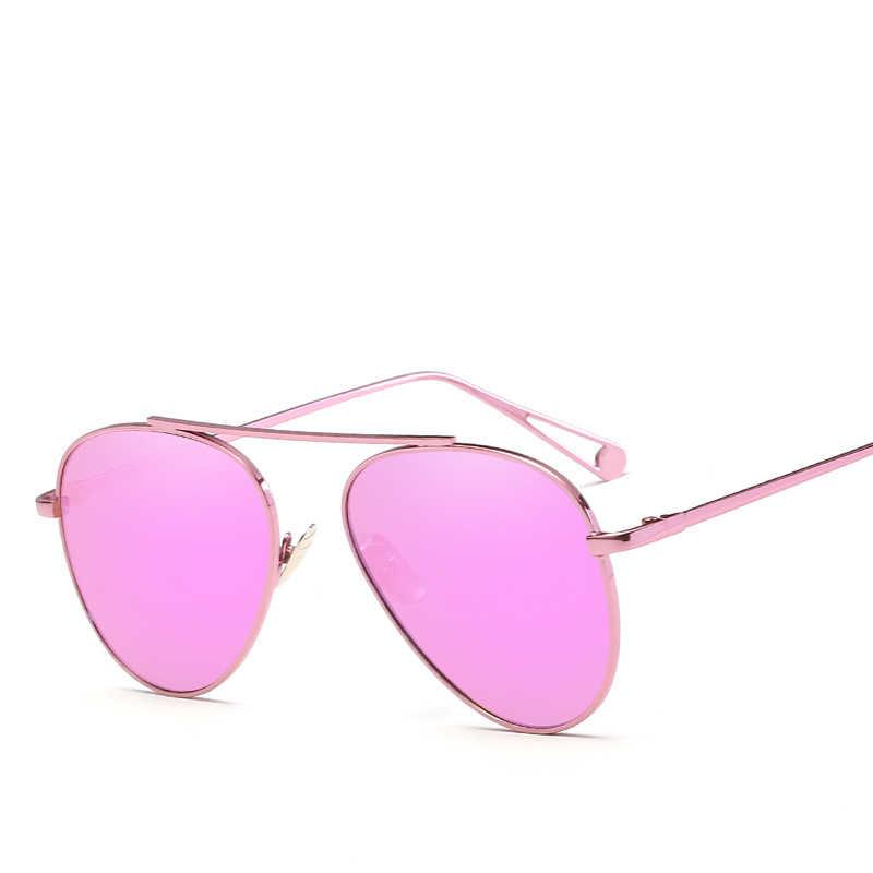 2020 Luxury ยี่ห้อการบินผู้หญิงแว่นตากันแดดแฟชั่น Hue Vintage Retro Pilot Lady แว่นตากันแดดผู้หญิงแว่นตากันแดดสำหรับผู้หญิง lunette
