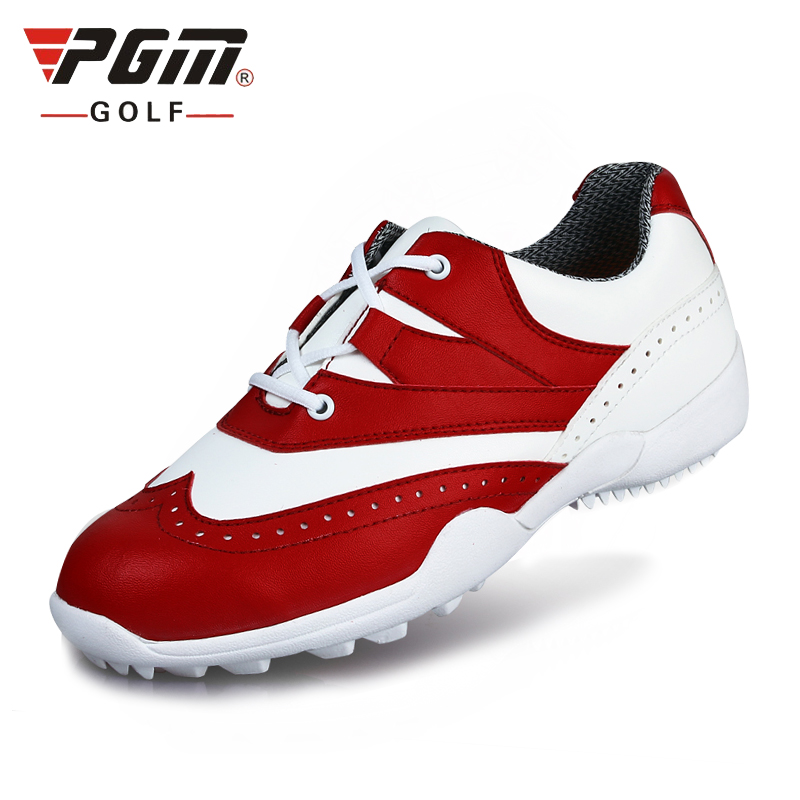 Designer Golf Shoes Women Waterproof Soft Footwear Classic Women Athletic Shoes Light Brand Trail Shoes AA10104 simulation mini golf course display toy set with golf club ball flag