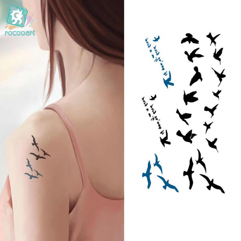 tattoo vögel handgelenk