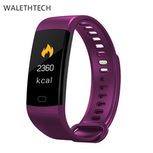Fitness tracker smart bracelet pedometer bluetooth smart watch men dengan heartrate blood pressure oksigen inteligent clock alarmY5