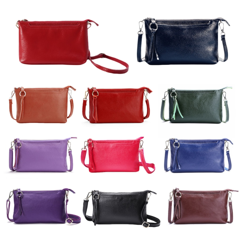 Messenger Wallet Leather Cross body Fashion Handbag Purse Women Shoulder Bags