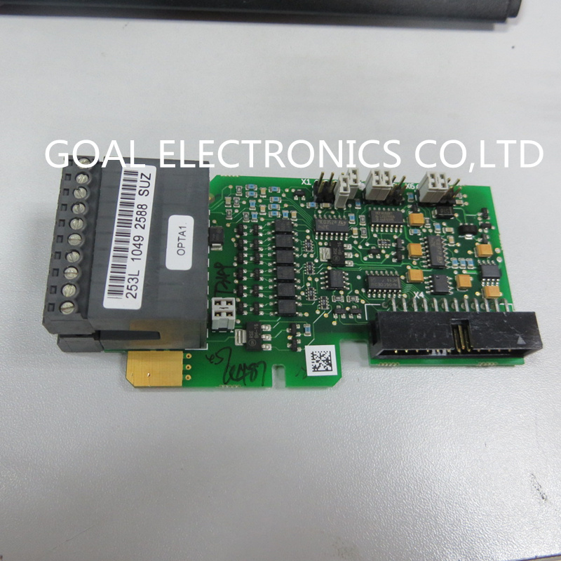 OPTA1 and 253L and PC00253 VACON inverter control terminal teardown цена