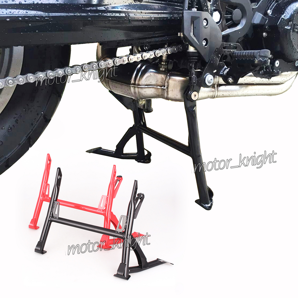 New Center Kickstand Kick Stand Side Bracket Motorcycle Centre Stand For <font><b>BMW</b></font> F700GS F650GS 2008-2016 RED BLACK image