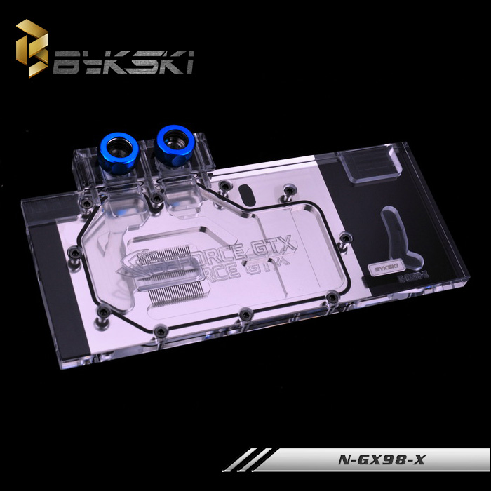 все цены на  Bykski N-GX98-X Full Cover Graphics Card Water Cooling Block  for Nvidia gtx 980 founders edition  онлайн