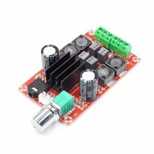 Image 3 - Tpa3116d2 2x50w placa amplificador de potência digital 5v a 24v duplo canal estéreo amp