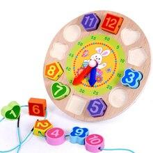 Vitoki детская игрушка для умственного развития, деревянная игрушка с 12 цифрами, часы для малышей, цветная цифровая Геометрическая развивающая сортировочная игрушка