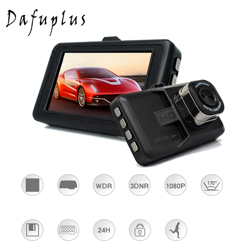 3 Inch DVR Car Dash Camera Night Vision Driving Video Recorder Car Camera Wide Angle Driving Recorder HD LCD New Dash Cam