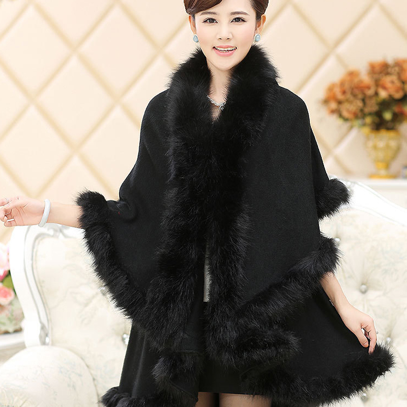 Popular Fur Cape Coat-Buy Cheap Fur Cape Coat lots from China Fur