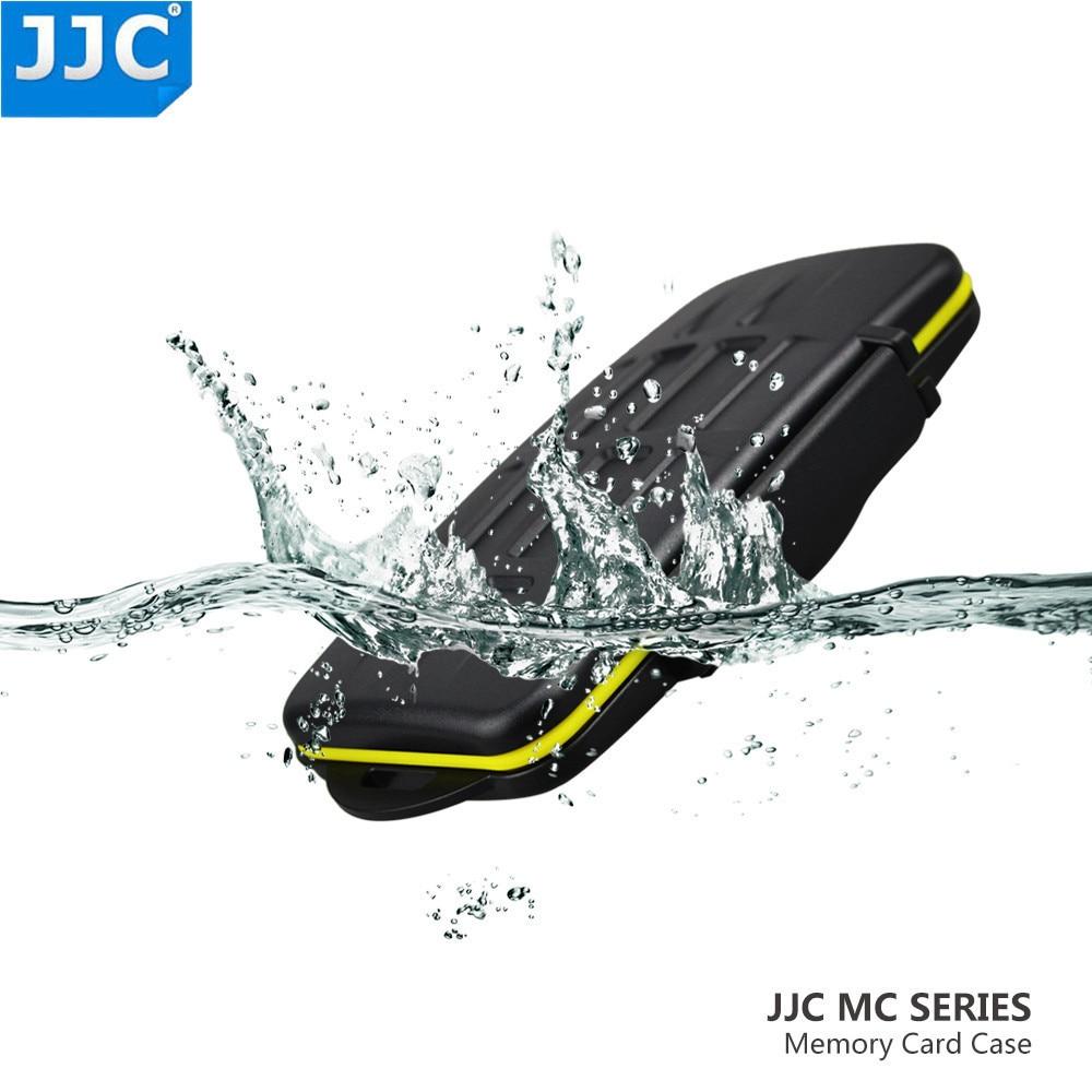 JJC Speicher Karte Halter SD/SDHC/CF/XD/SXS/XQD Karten Fall Wasser-Beständig box für Canon/Nikon/Sony/Fujifilm/Olympus/Leica Fall