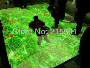 Supply  Interactive Floor projection system including  different effects for wedding, advertising, free shipping