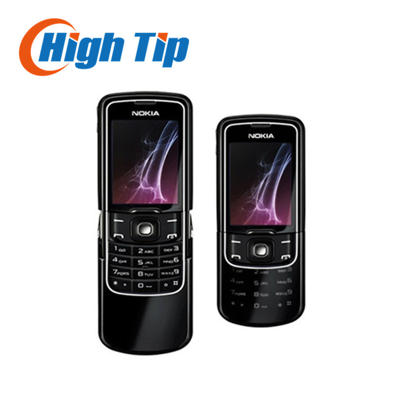 Unlocked Original Nokia 8600 Luna Mobile cell phone english russian keyboard language Singapore post Free shipping
