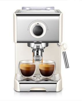 Semi-Automatic Espresso Machine with 20Bar Pressure Pump for Grinding and Brewing Coffee Beans