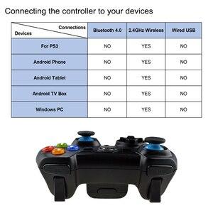 Image 5 - EasySMX ESM 9013 אלחוטי Gamepad משחק ג ויסטיק בקר תואם עם מחשב Windows PS3 טלוויזיה תיבת אנדרואיד Smartphone
