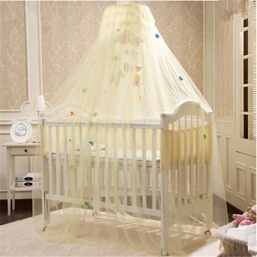 Buena calidad infantil del bebé cuna Canopy mosquitera cuna Para ...