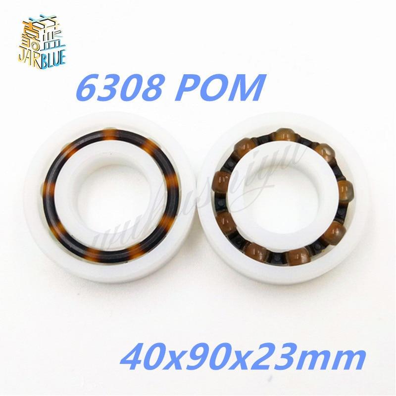 6308 POM (10PCS)  Plastic ball bearings 40x90x23mm  Glass Balls 40mm/90mm/23mm6308 POM (10PCS)  Plastic ball bearings 40x90x23mm  Glass Balls 40mm/90mm/23mm