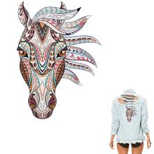COSBILL – patchs lavables cheval 3D en fer sur transferts, autocollants de niveau A pour vêtements, beaux appliqués à main libre, Diy bricolage, Y-050