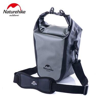 Naturehike уличная водонепроницаемая сумка для камеры SLR камера свет портативный водонепроницаемый пылезащитный наружный камера защита посылка - Цвет: Светло-серый