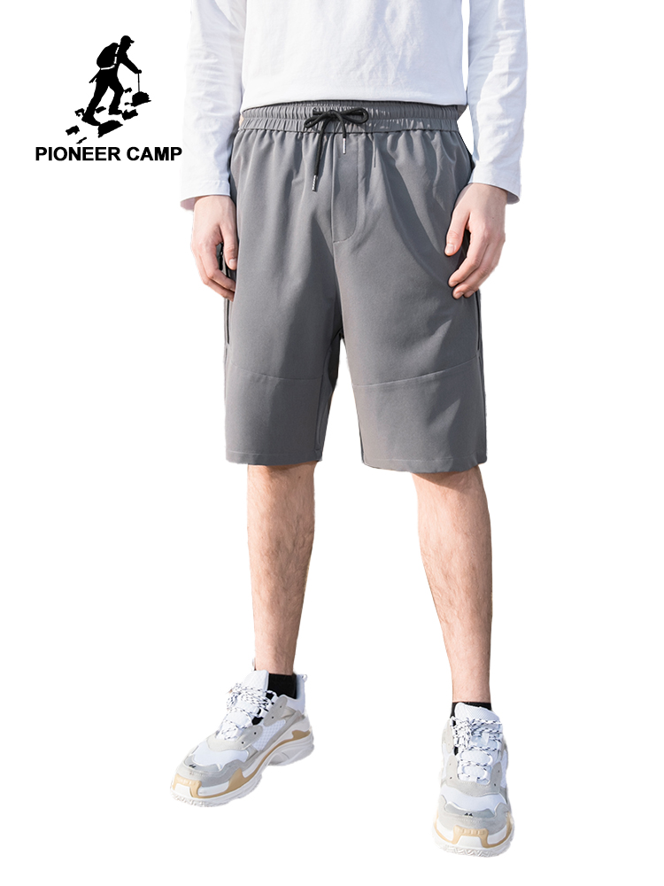 Pioneer Camp 2019 Men's Shorts Summer Sports Mens Shorts With Zippers Casual Male Shorts Homme Brand Clothing ADK901110