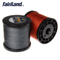 Fairiland 1094yd 4 strands Braided Fishing Line 7 Color PE braid line 0.4#,0.6#,0.8#,1# 6# available 10 60LB Tensile Strength