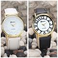 CLAUDIA 2016 venta Caliente de Las Mujeres Retro Digital Dial Banda de Cuero de Cuarzo Analógico Reloj de pulsera Relojes Señoras Reloj Mujeres Regalo Perfecto