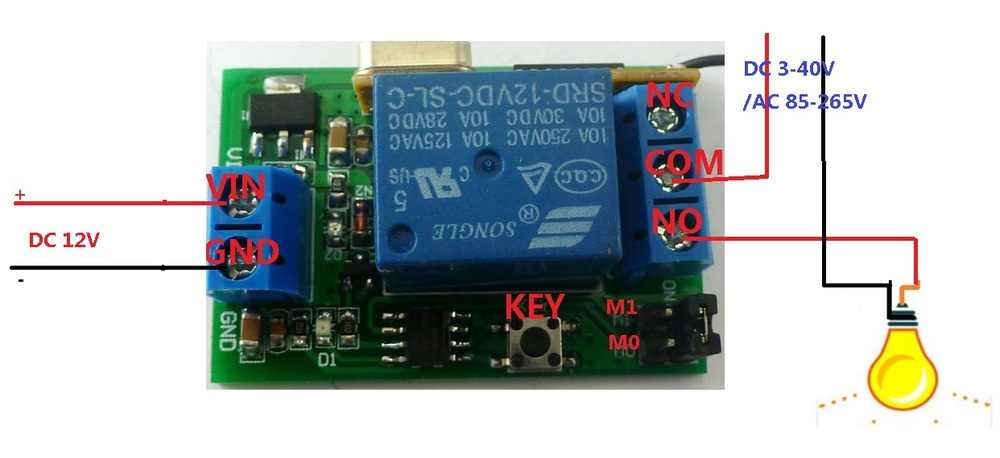 [DIAGRAM_3NM]  DC 12v Relay Wireless Remote Control RF Switch On/off Switch + Delay Time  Timer|controller tft|control planecontrol light switch - AliExpress | Remote Control 12v Dc Switch Wiring Diagram |  | www.aliexpress.com