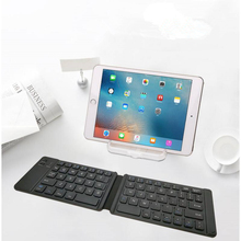 KuWFi Collapsible Bluetooth Keyboard Two-fold Mini Mobile Phone Tablet Universal Wireless
