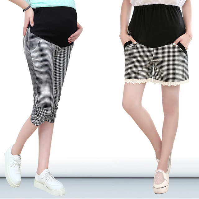 Moda de verano Más El Tamaño de Maternidad Pantalones Pantalones Pantalones  Casuales de Vestir Para Las 4b2fec19c1aa