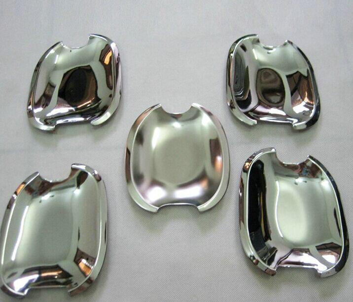 Prix pour ABS chrome conception Prado 120 accessoires plaque poignée de porte insérer bol trim fit Prado fj120 2003 2004 2005 2006 2007 2008
