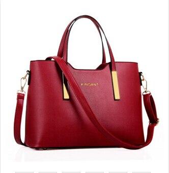 100% Genuine leather Women handbags 2018 new bags handbags female  stereotypes fashion handbag Crossbody Shoulder Handbag-in Top-Handle Bags  from Luggage ... b1468a6a3992