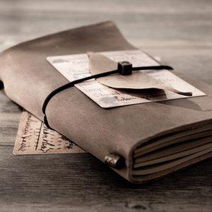 Image 5 - 15pcs del Viaggiatore notebook Dellannata del pendente tipo di bendaggio viaggiatore diario note book pianificatore Organizzatore personale creativo planner