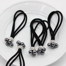 5pcs headwear novelty korean women elastic hair rubber bands ties headwear rope accessories for women scrunchie ornaments isnice