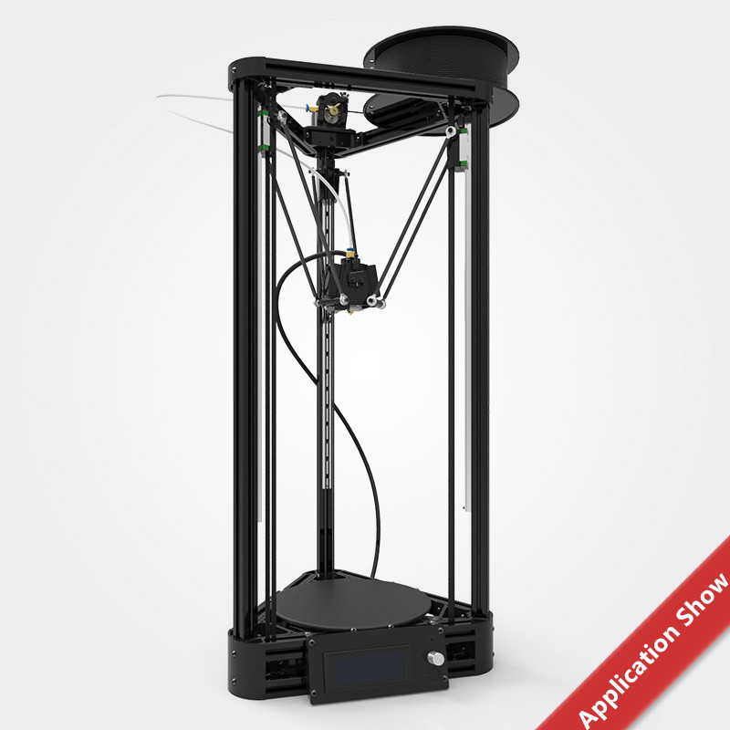 New Kossel frame Delta 3D printer plastic injection parts Including ...
