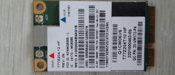 Sierra GOBI3000 MC8355 Mini PCI-e 3G HS2430 HSPA WWAN Inalámbrica tarjeta wlan gps fru: 60y3257 para lenovo x230 x230t t430s x1c W530