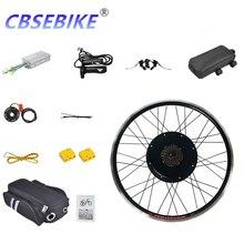CBSEBIKE 20 дюймов, комплект для переоборудования Ebike, мотор-концентратор заднего колеса, комплект для переоборудования с мотором, для автомобил...