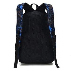 Image 3 - Bolso de hombro de estilo informal para hombre, mochila Oxford con asa suave y cremallera, para estudiantes, tendencia de ocio, ZF9832