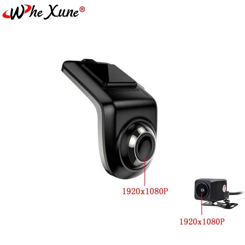 original Mini Full HD 1080P Dual lens ADAS USB Car DVR font b Camera b font