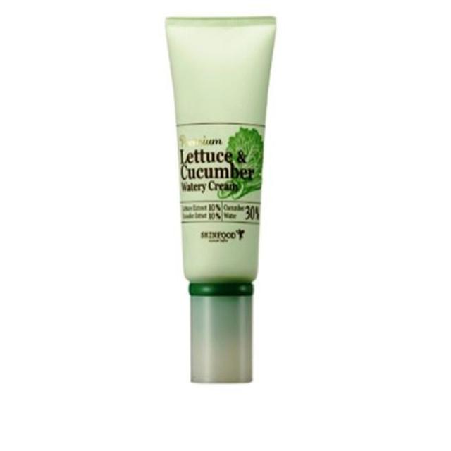 Skinfood prémio alface pepino Watery creme 50 g - cuidados com a pele Face Care hidratante Anti envelhecimento creme de clareamento coréia cosméticos