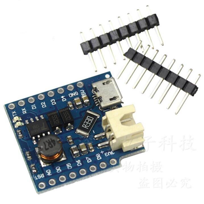 Wemos D1mini модуль питания/мини одиночный литиевый аккумулятор шаблон зарядки/модуль магнитной защиты батареи