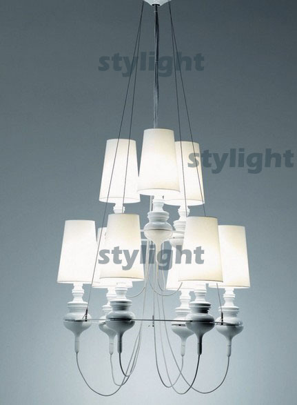 Hot selling 6 heads Jaime Hayon Josephine queen pendant lamp metalarte hanging lamp dinning room suspension light modern design ark light free shipping hot selling fashion metalarte josephine pendant lamp also for wholesale