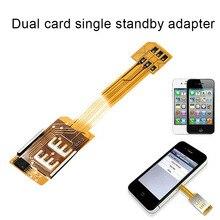Dual Sim Card Double Adapter Converter C