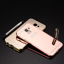 Luxury Gold Plating Aluminum Metal Mirror Case For Samsung Galaxy J6 2018 Phone Case Back For Samsung J600 J600F SM-J600F case(China)