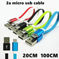 5V/2A Micro USB to USB Cable USB Data Sync Charger Cable Micro USB Data Sync Charger Cable for Samsung/Power Bank Cable