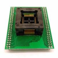 TQFP100 FQFP100 QFP100 to DIP100 Programming Socket OTQ 100 0.5 09 Pitch 0.5mm IC Body Size 14x14mm Test Adapter