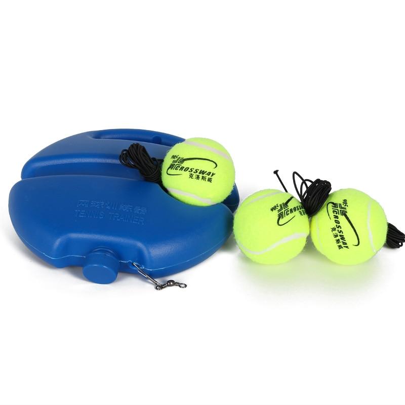 купить Three tennis ball Heavy Duty Tennis Training Tool Exercise Tennis Ball Sport Self-study Rebound Ball With Tennis Trainer по цене 1096.12 рублей