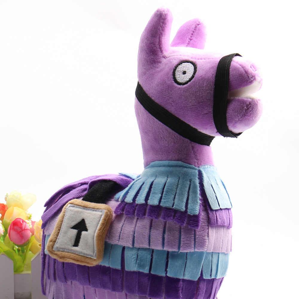 PUBG Troll Stash Llama плюшевая игрушка Горячая игра мягкая Альпака Радуга лошадь Таш мягкие куклы игрушки дети подарок на день рождения BKX109