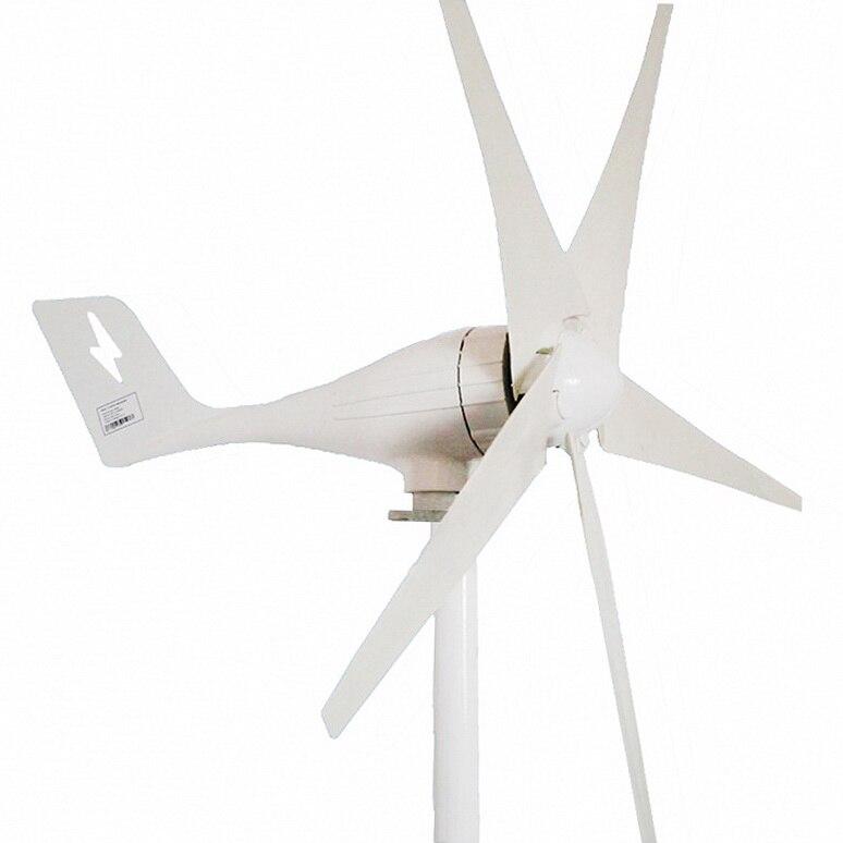 Ad alta efficienza Generatore di Turbina del Vento 500 W 600 W 400 W generatore di vento/turbina di vento/mulino a vento CE Approvato
